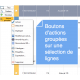 Merlin Backoffice : actions groupées multi lignes